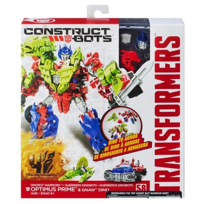 BRINQ Figura Transformers CONST BOTS Warriors