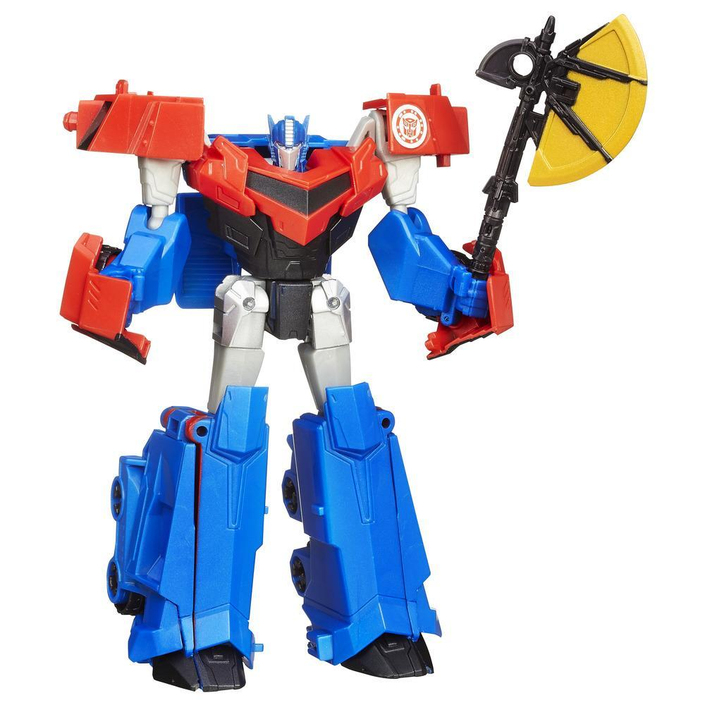 BRINQUEDO FIGURA TRF RID WARRIORS OPTIMUS PRIME