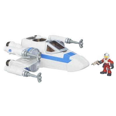 Veículo Playskool Heroes Star Wars Luxo com Figura