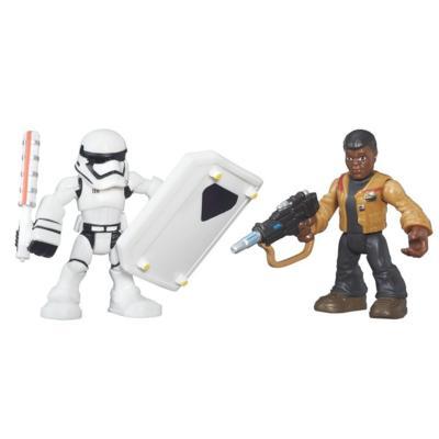 Figura Playskool Heroes Star Wars com 2 Sortido
