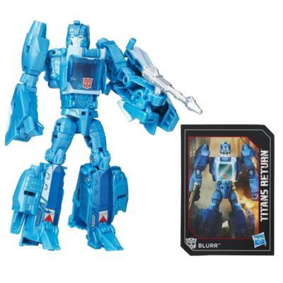 Titan Master Hyperfire e Blurr da Geração de Transformers do Retorno dos Titãs