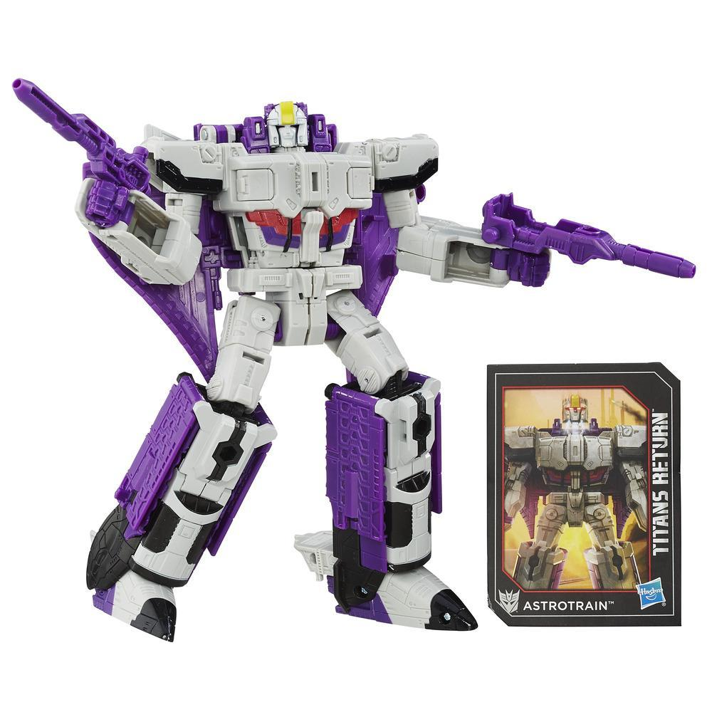 Transformers Generations Titans Return - Darkmoon e Astrotrain