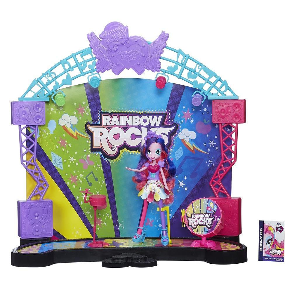 CONJUNTO EQUESTRIA GIRLS PALCO POP