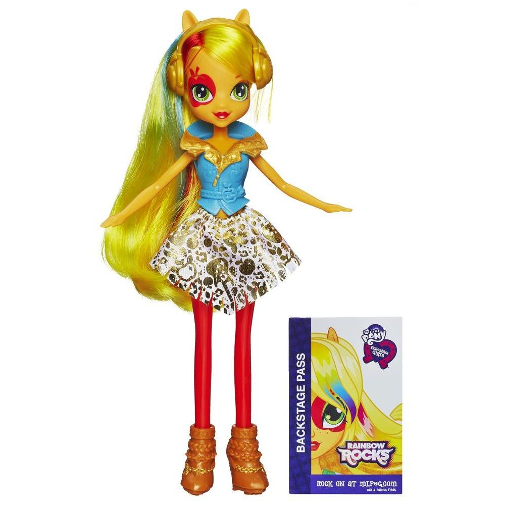 My Little Pony Equestria Girls Rainbow Rocks - Boneca Applejack