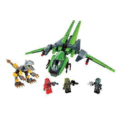 KRE-o - Kit Lockdown Air Raid - Coleção Transformers: A Era da Extinção