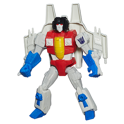 FIGURA TRANSFORMERS HERO MASHERS STARSCREAM