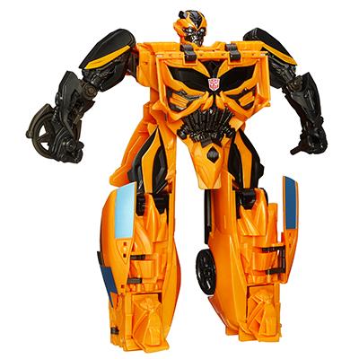 Coleção Transformers: A Era da Extinção - Boneco Mega One-Step Bumblebee