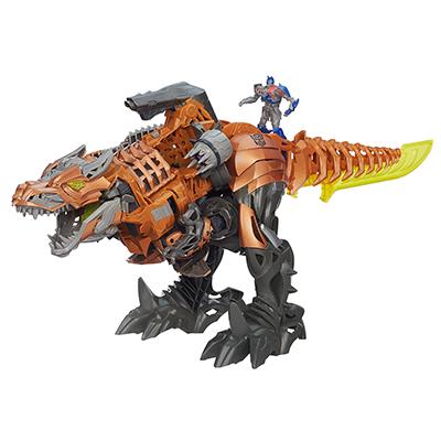 Coleção Transformers: A Era da Extinção - Boneco Stopm&Chomp Grimlock