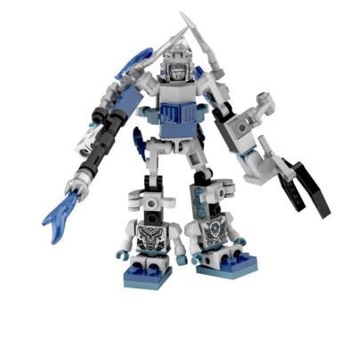 Kit  Micro-Changers Combiners Icebolt - KRE-O - Transformers: A Era da Extinção