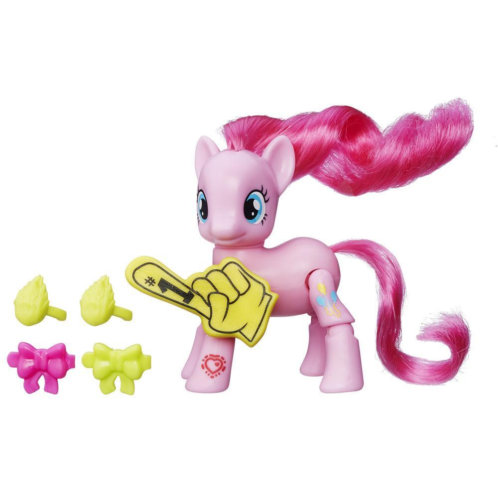 MY LITTLE PONY  PONYS COM MOVIMENTO PINKIE PIE CHEERING