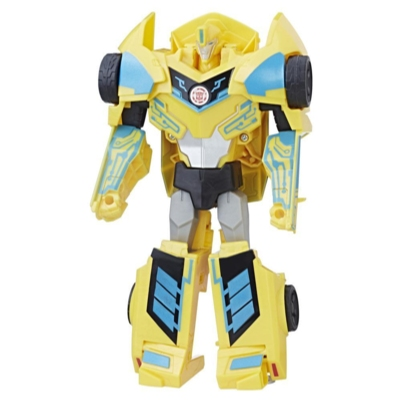 TRANSFORMERS ROBOTS IN DISGUISE 3 PASSOS  HYPER POWER SURGE BUMBLEBE