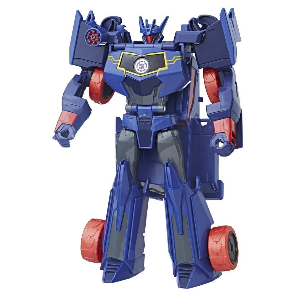 TRANSFORMERS ROBOTS IN DISGUISE 3 PASSOS  HYPER SOUNDWAVE