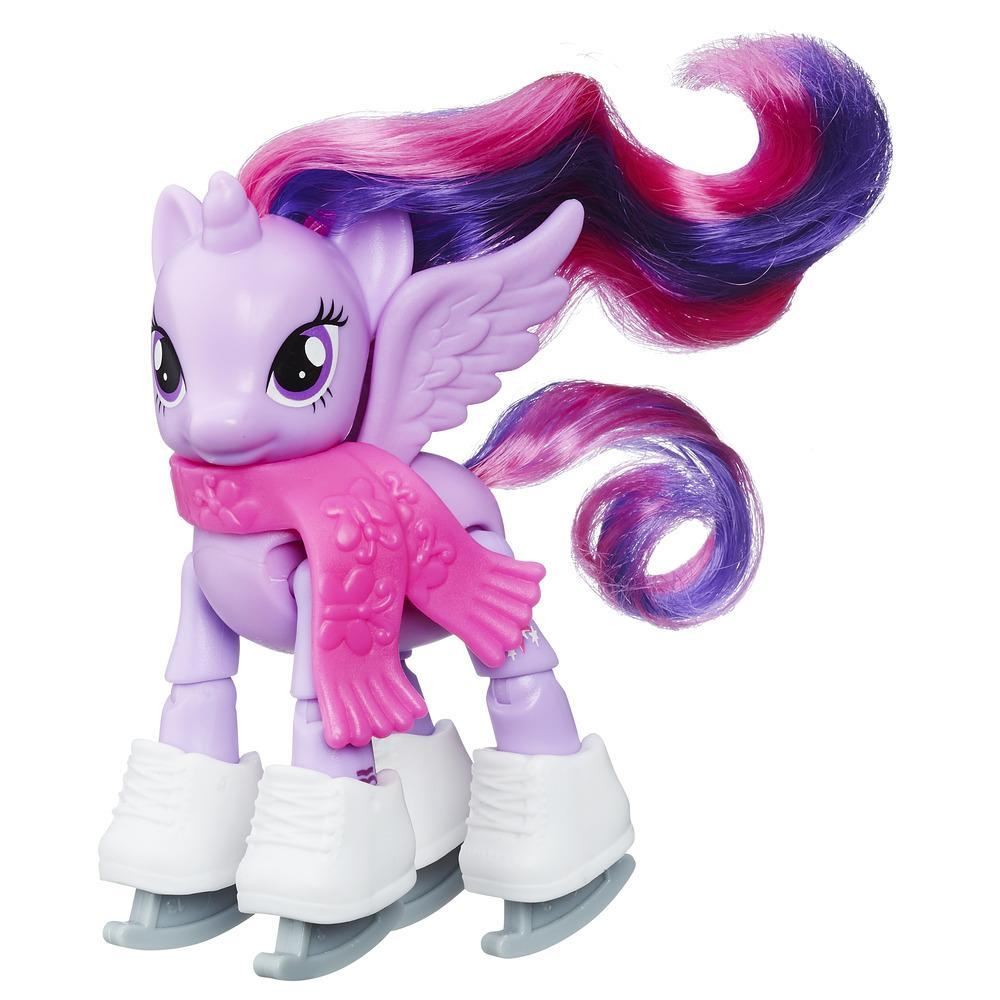 MY LITTLE PONY  PONYS COM MOVIMENTO PRINCESS TWILIGHT SPARKLE ICE SKTING