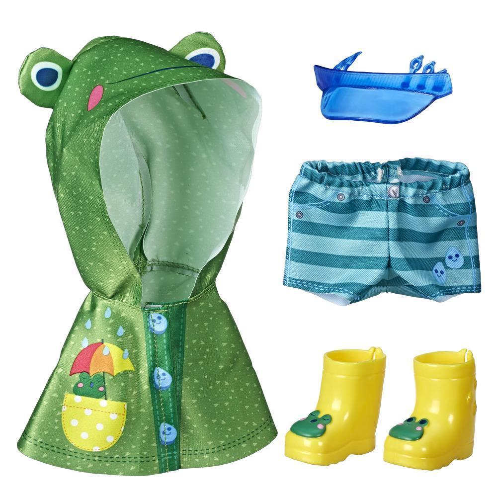 Littles da Baby Alive Pequenas modas - Poças no parque. Roupas e acessórios de boneca para crianças acima de 3 anos