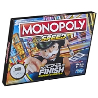 Monopoly Speed jogo de tabuleiro para crianças a partir dos 8 anos