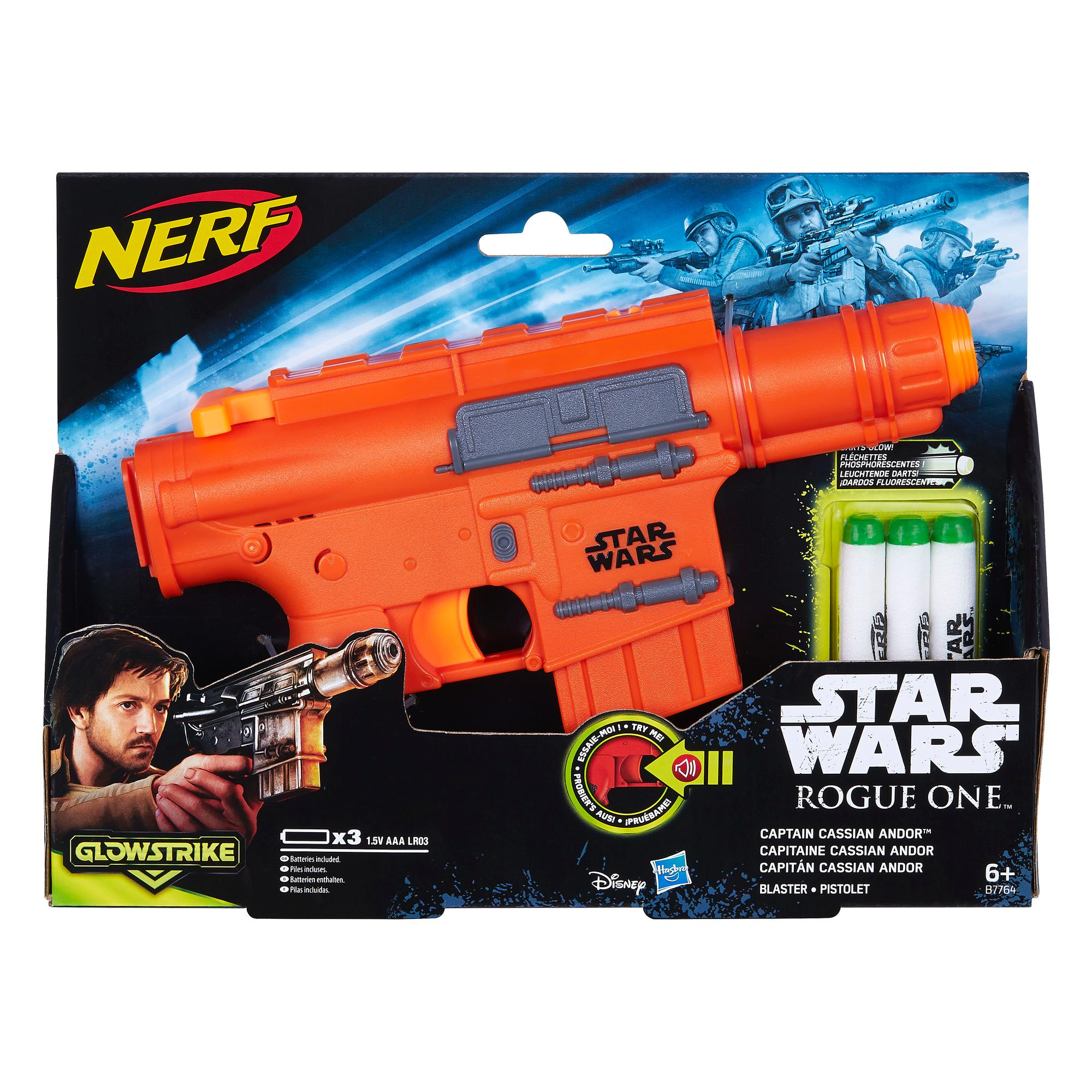 STAR WARS ROGUE ONE CASSIAN BLASTER