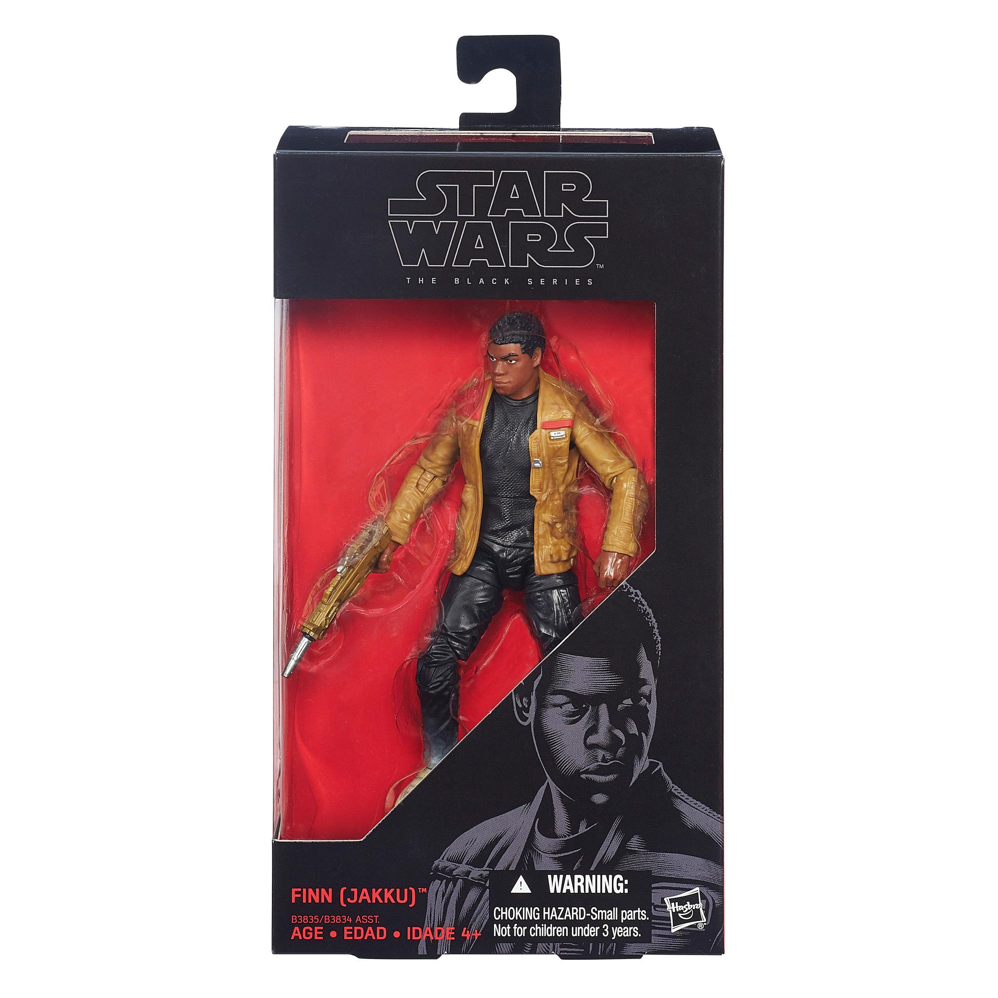 Star Wars - Finn de 15,25 cm (Jakku) Black Series