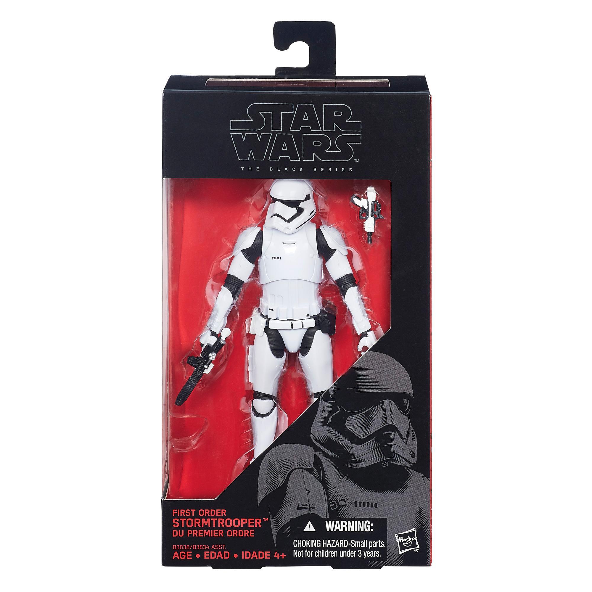 Star Wars – The Black Series – Stormtrooper da Primeira Ordem com 15,24 cm (6 pol.)