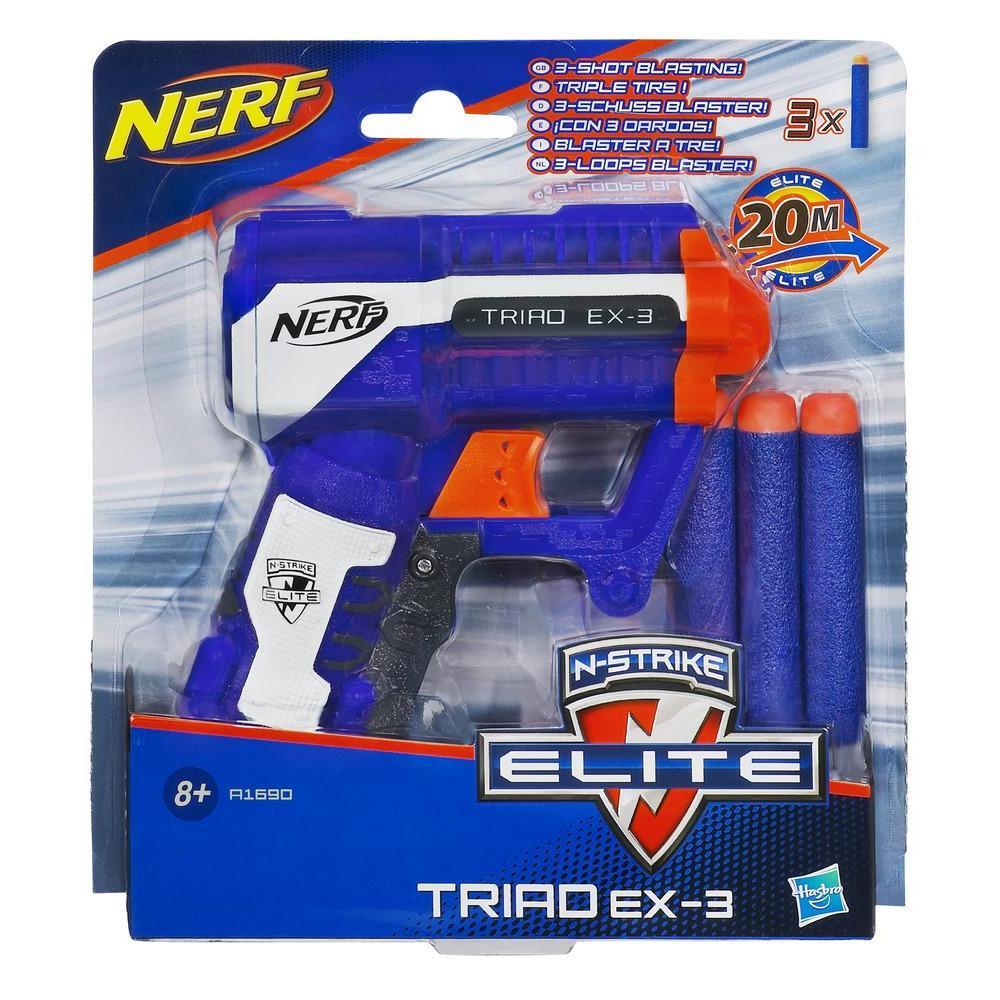 NERF - N-STRIKE ELITE Triad EX-3