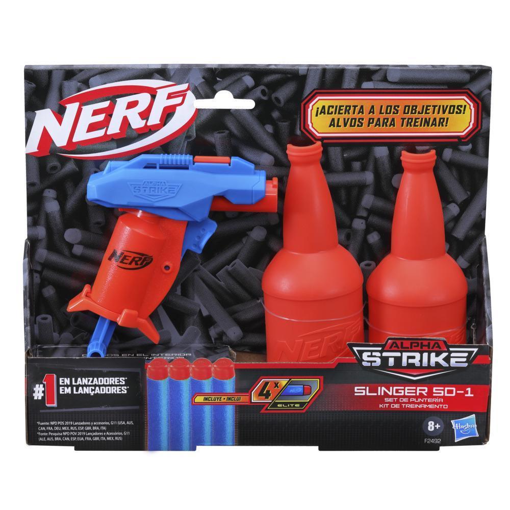 Nerf Alpha Strike Slinger SD-1 Kit de Alvos