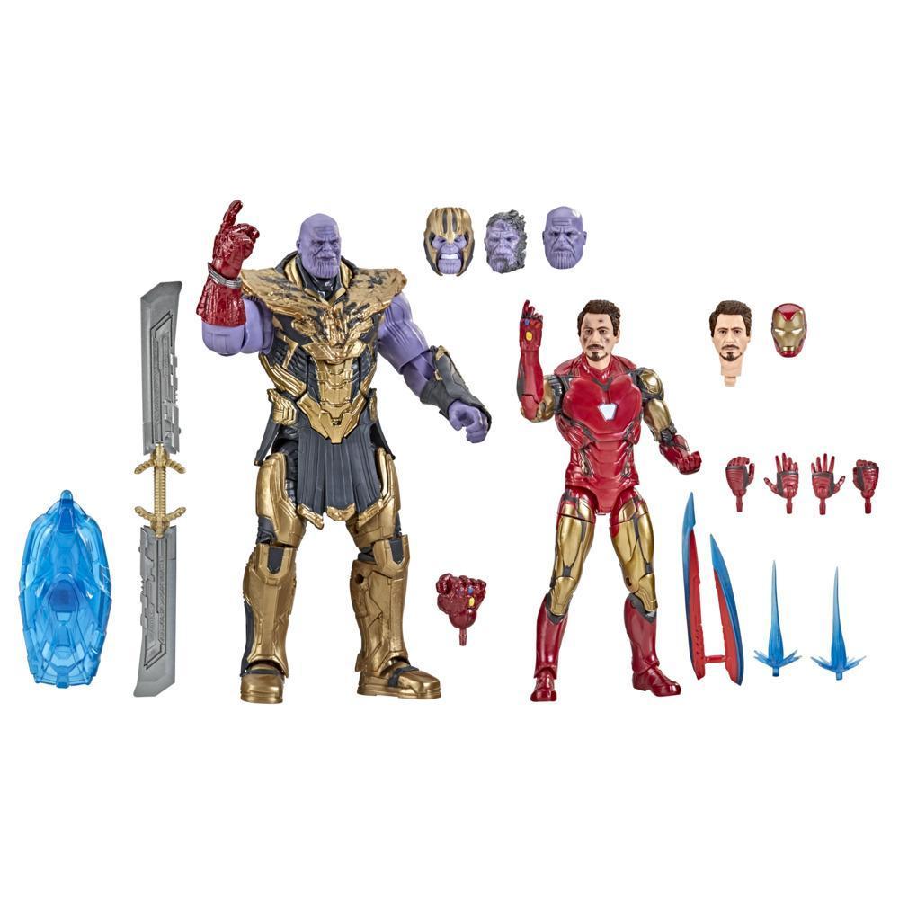 Marvel Legends Series - Iron Man Mark 85 e Thanos