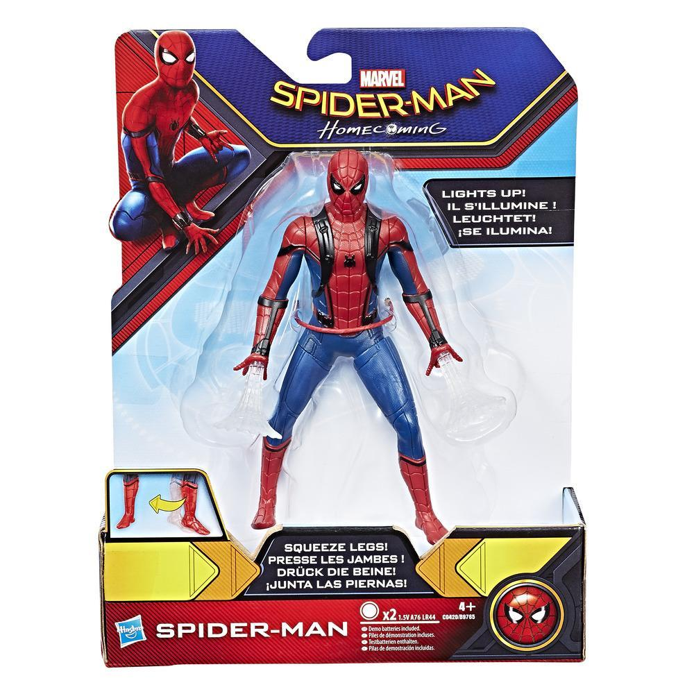 SPIDERMAN WEB CITY LANÇA REDES SPIDERMAN 15 CM