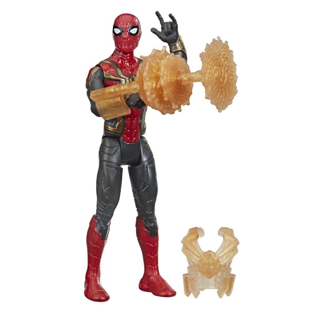 Marvel Spider-Man Mystery Web Gear Iron Spider Traje Integrado