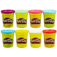 PLAYDOH PACK 4+4 POTES