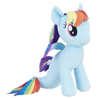 MY LITTLE PONY PELUCHES TITAN RAINBOW DASH SEA PONY