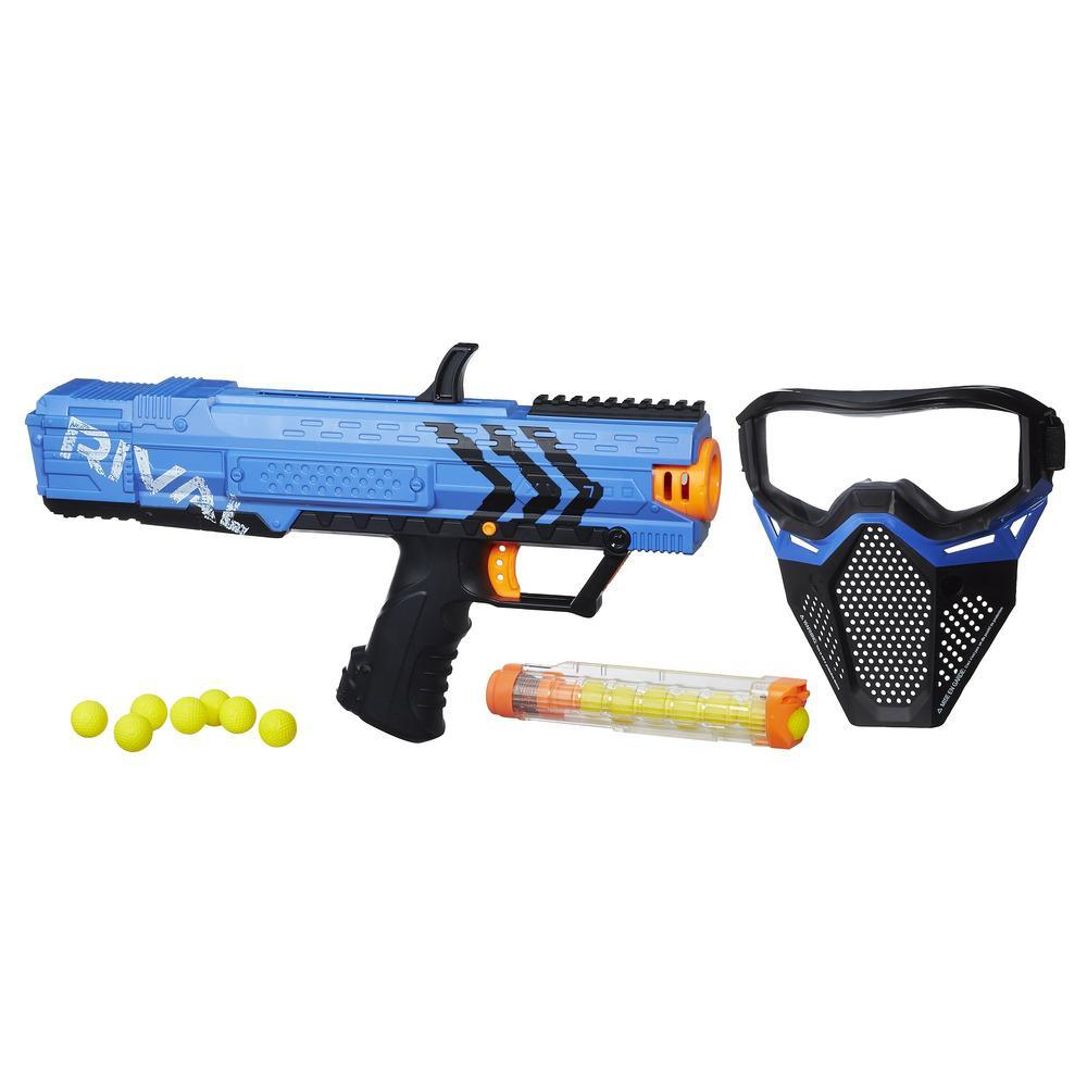 NERF RIVAL APOLLO STARTER KIT AZUL