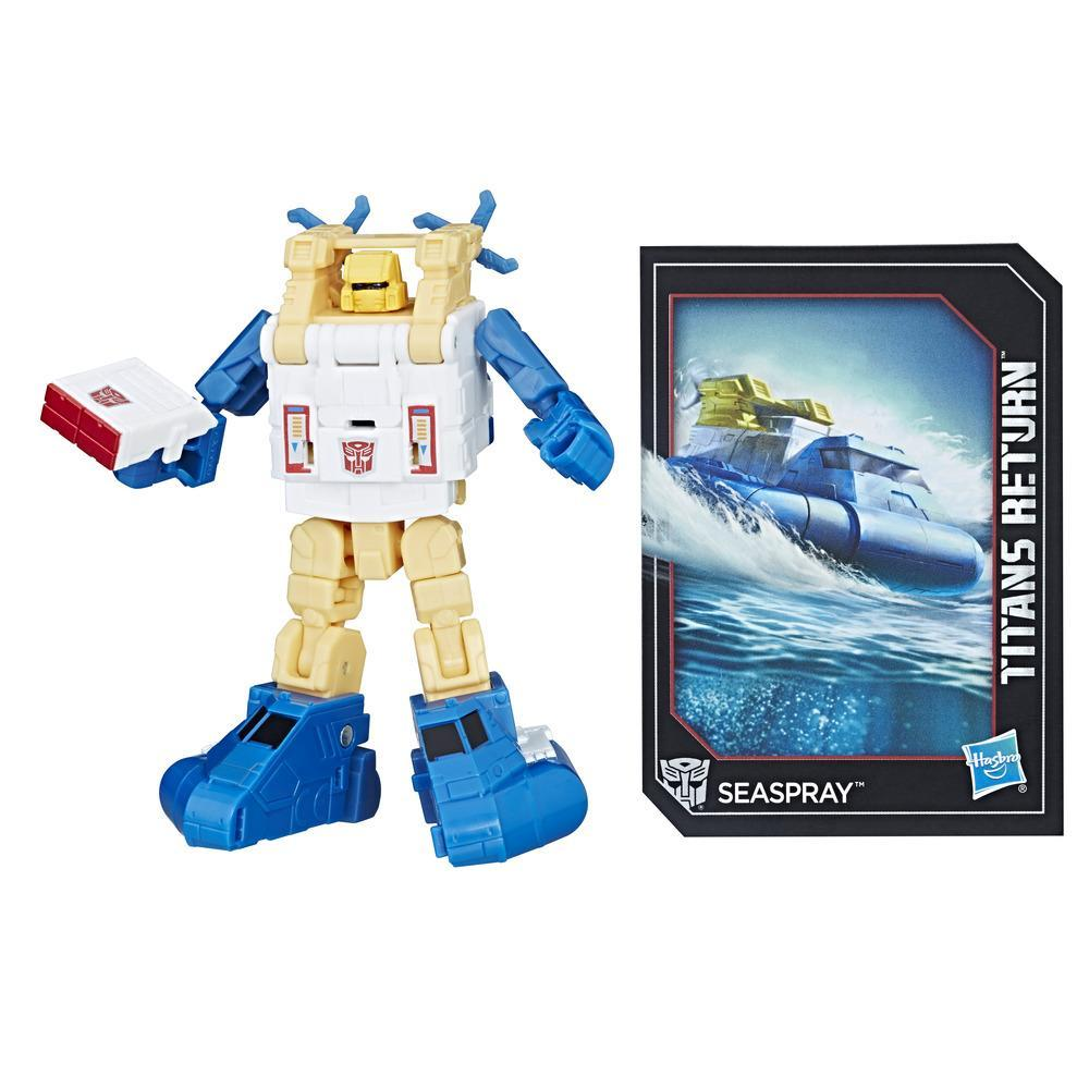 TRANSFORMERS GENERATIONS LEGENDS TITANS SEASPRAY BOAT