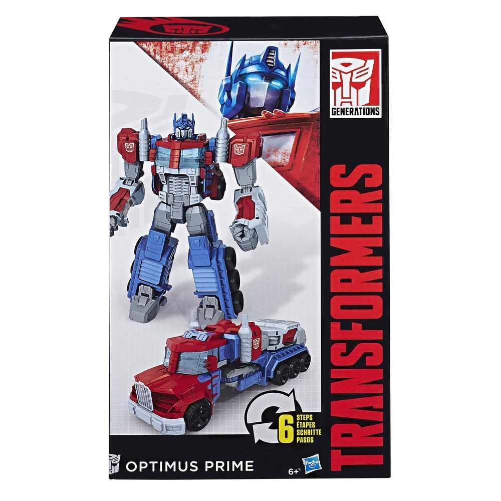Transformers Cyber Commander Series Optimus Prime