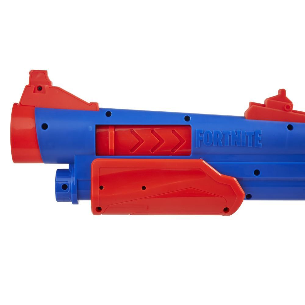 Nerf Fortnite Pump SG Blaster, Pump Action Mega Dart Blasting, Breech Load, 4 Nerf Mega Darts, For Youth, Teens, Adults