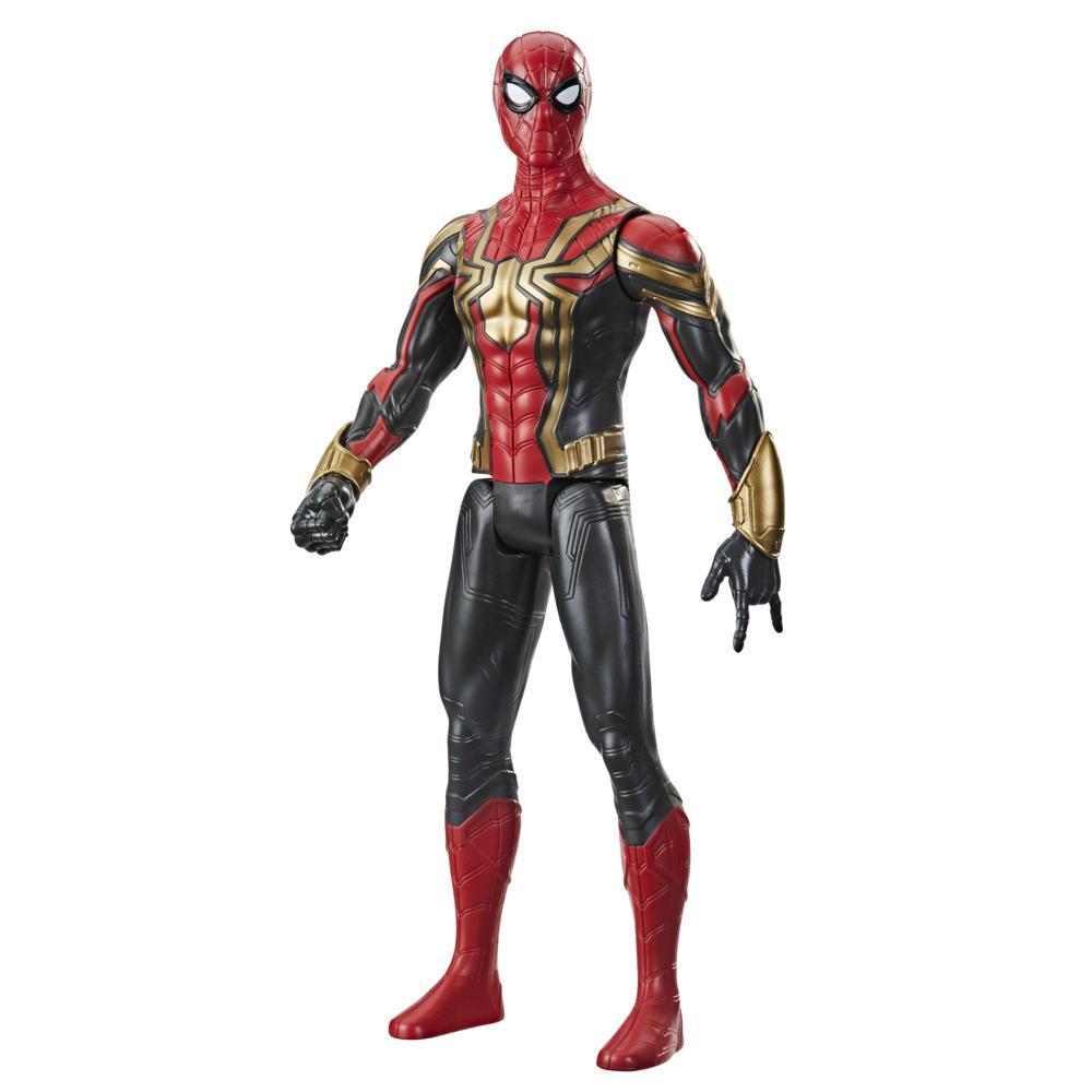 Marvel Homem-Aranha Titan Hero Series Aranha de Ferro Uniforme Integrado