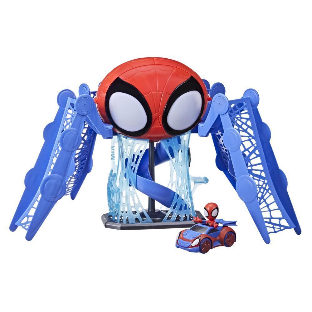 Spidey and His Amazing Friends - Playset Aracnoquartel