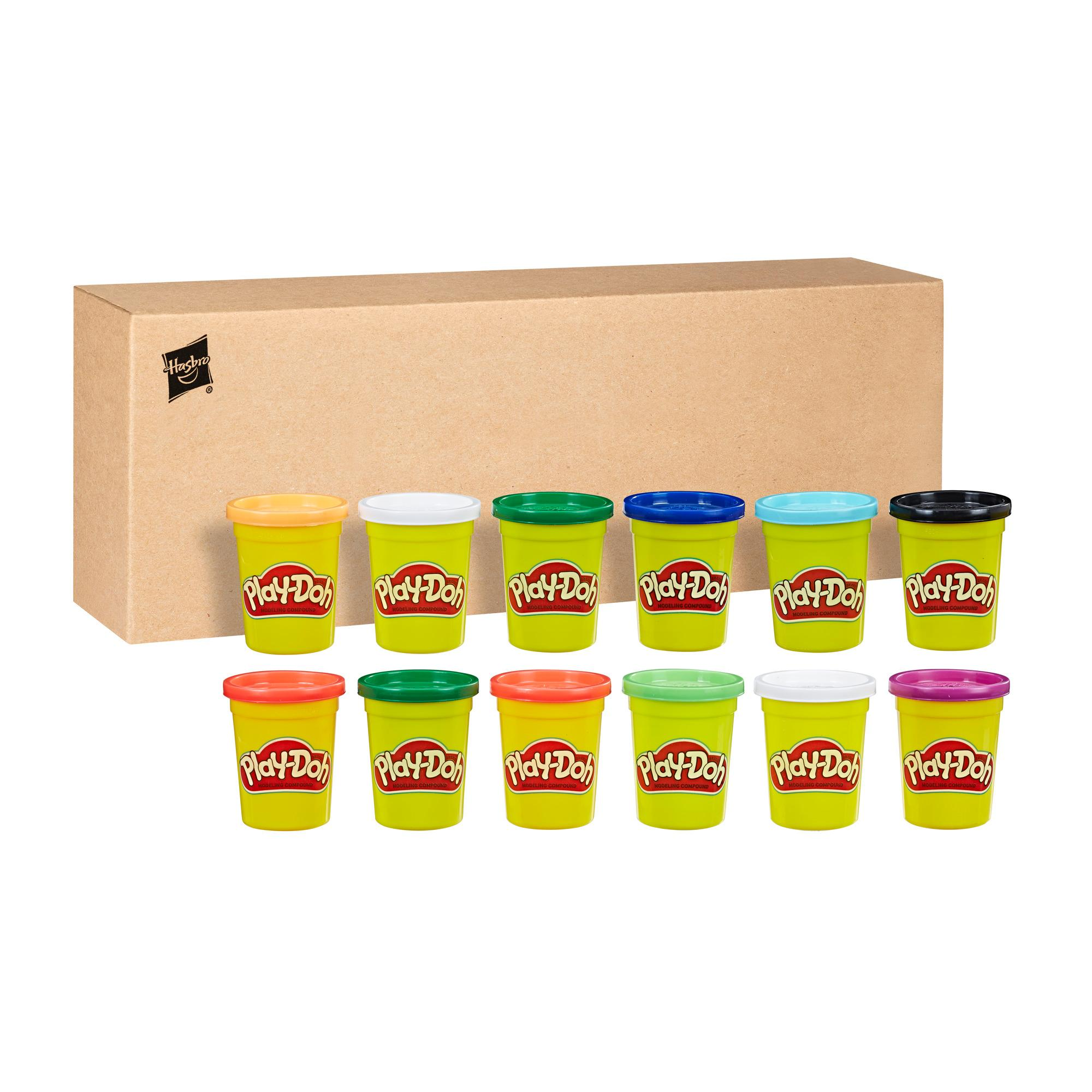 PLAY-DOH PACK 12 POTES CORES FRIAS