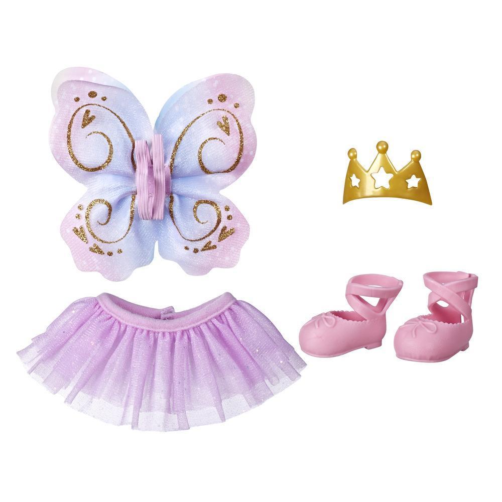 Littles da Baby Alive Pequenas modas - Roupa de balé para bonecas. Roupas e acessórios de boneca para crianças acima de 3 anos
