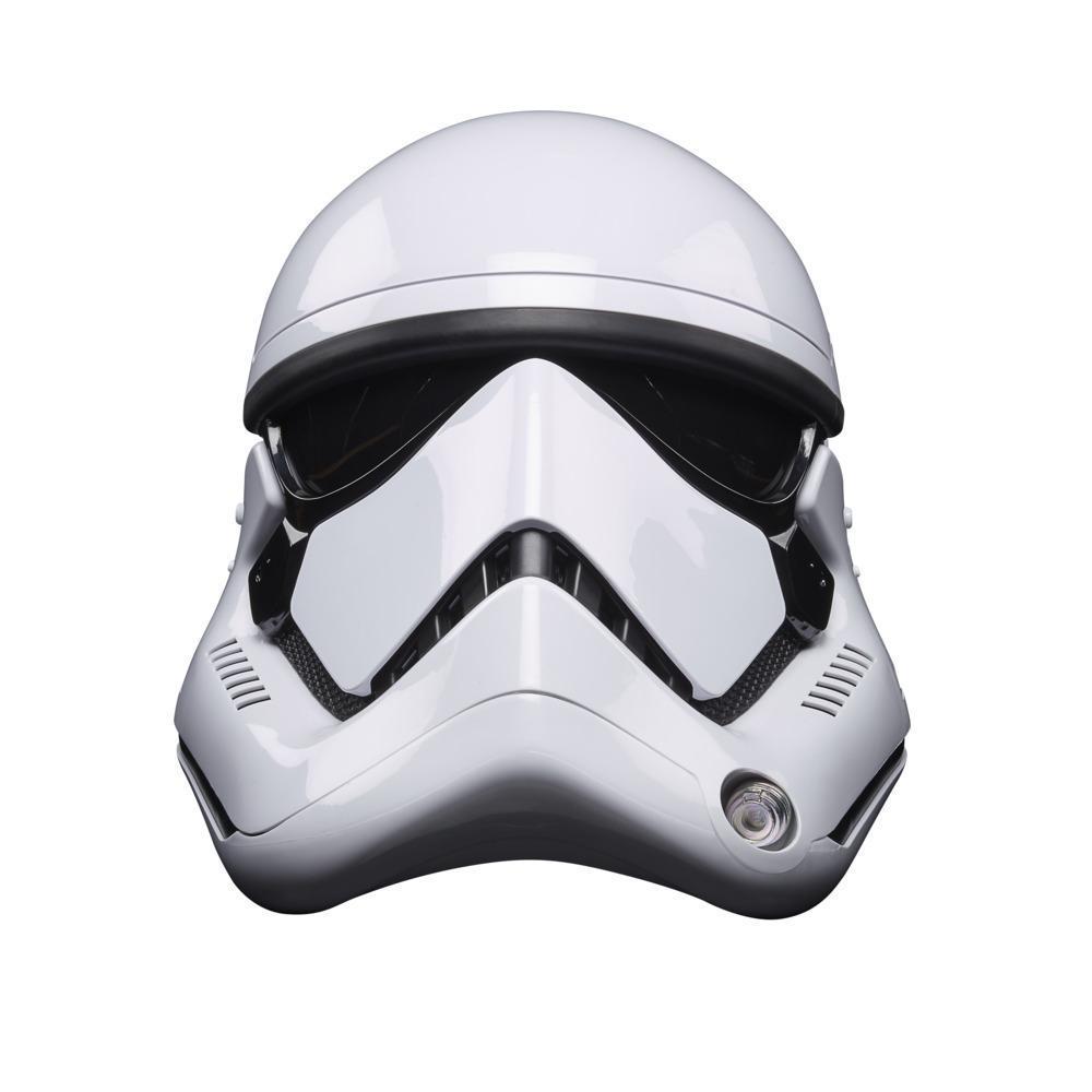 Star Wars The Black Series - First Order Stormtrooper - Capacete eletrónico