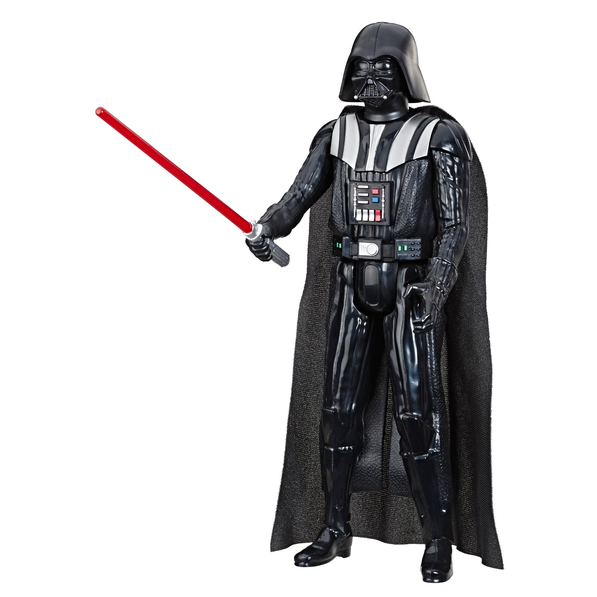 Star Wars Hero Series Darth Vader Toy 12-inch Scale Action Figure with Lightsaber Accessory, Toys for Kids Ages 4 and Up