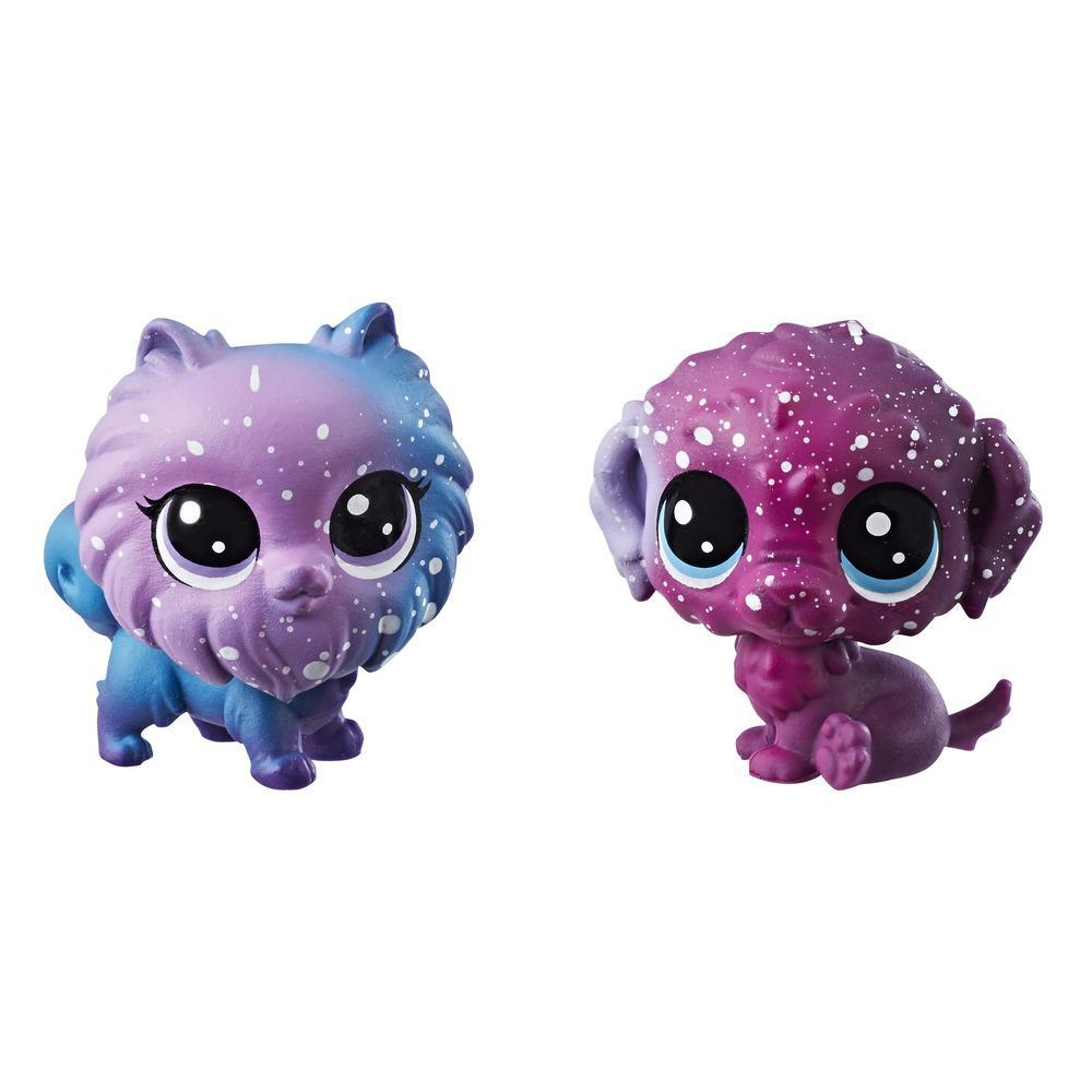 LITTLEST PET SHOP ROMULUS WATERUP & STARRY POMERAN