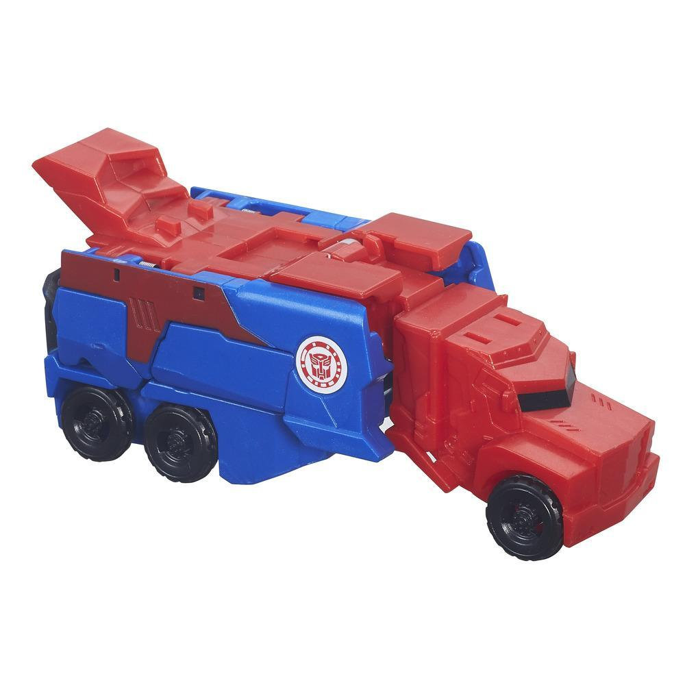 TRANSFORMERS ROBOTS IN DISGUISE 1 PASSO OPTIMUS PRIME