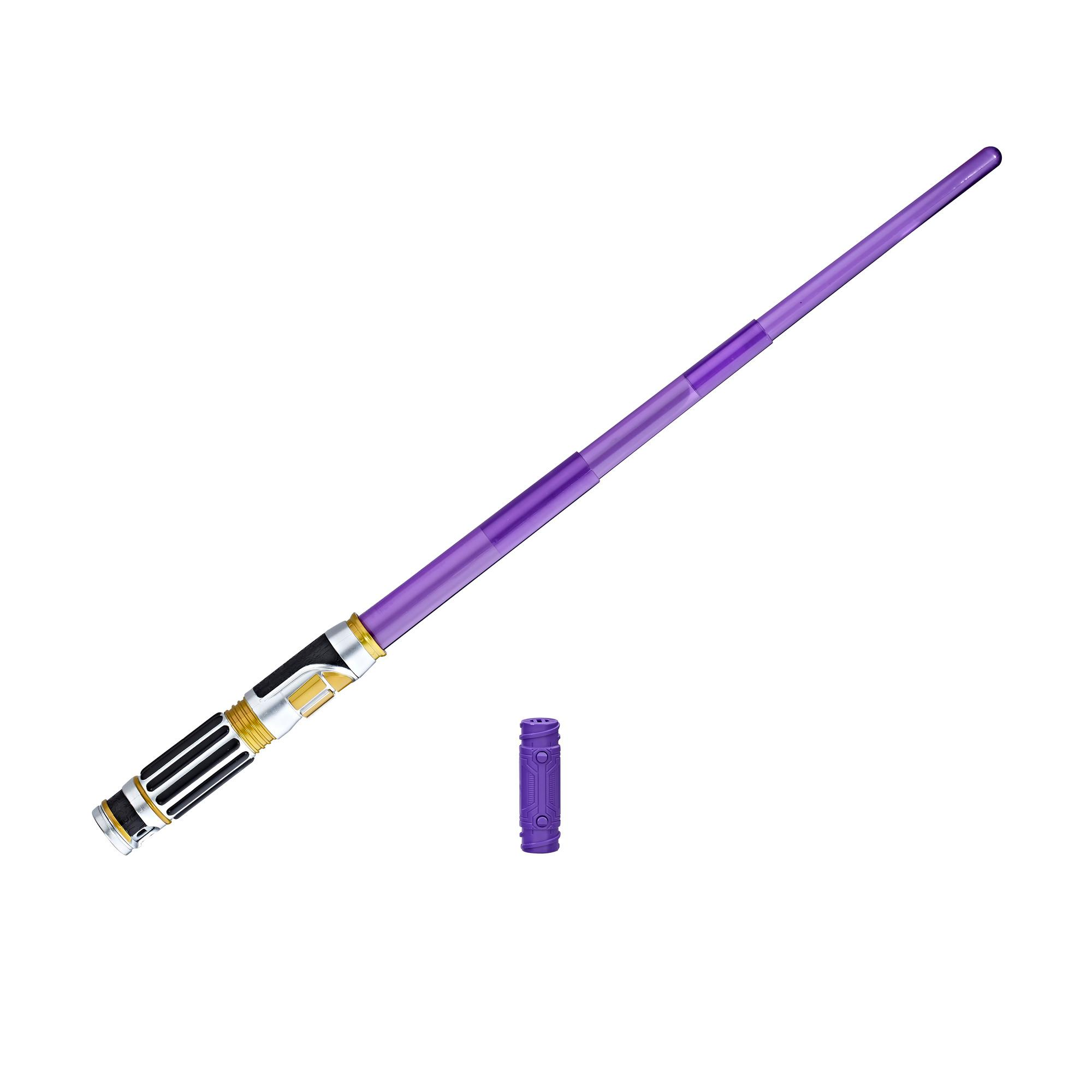 STAR WARS EPISODIO 8 SABRE ELETRÓNICO MACE WINDU