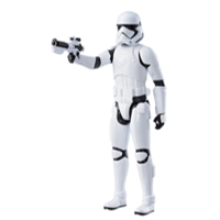 STAR WARS EPISODIO 8 HERO SERIES FIGURA FIRST ORDER STORMTROOPER