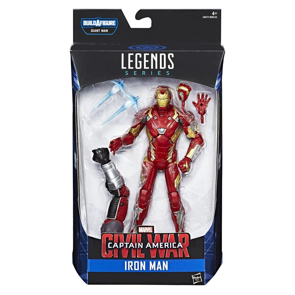 MARVEL LEGENDS FIGURAS IRON MAN MARK 15 CM