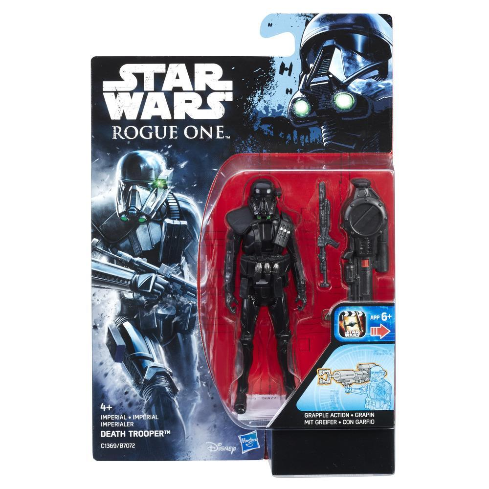 STAR WARS ROGUE ONE FIGURA IMPERIAL DEATH TROOPER 9 CM