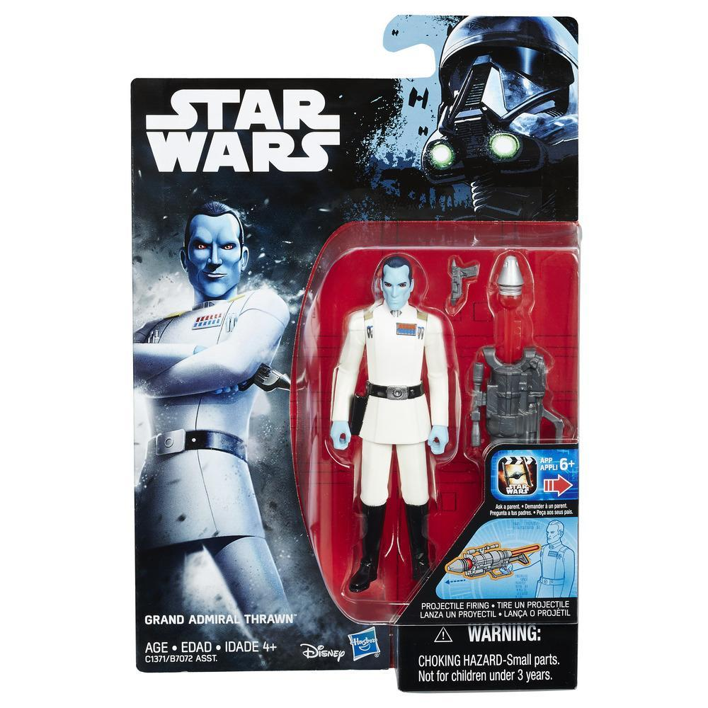 STAR WARS ROGUE ONE FIGURA ADMIRAL THRAWN 9 CM