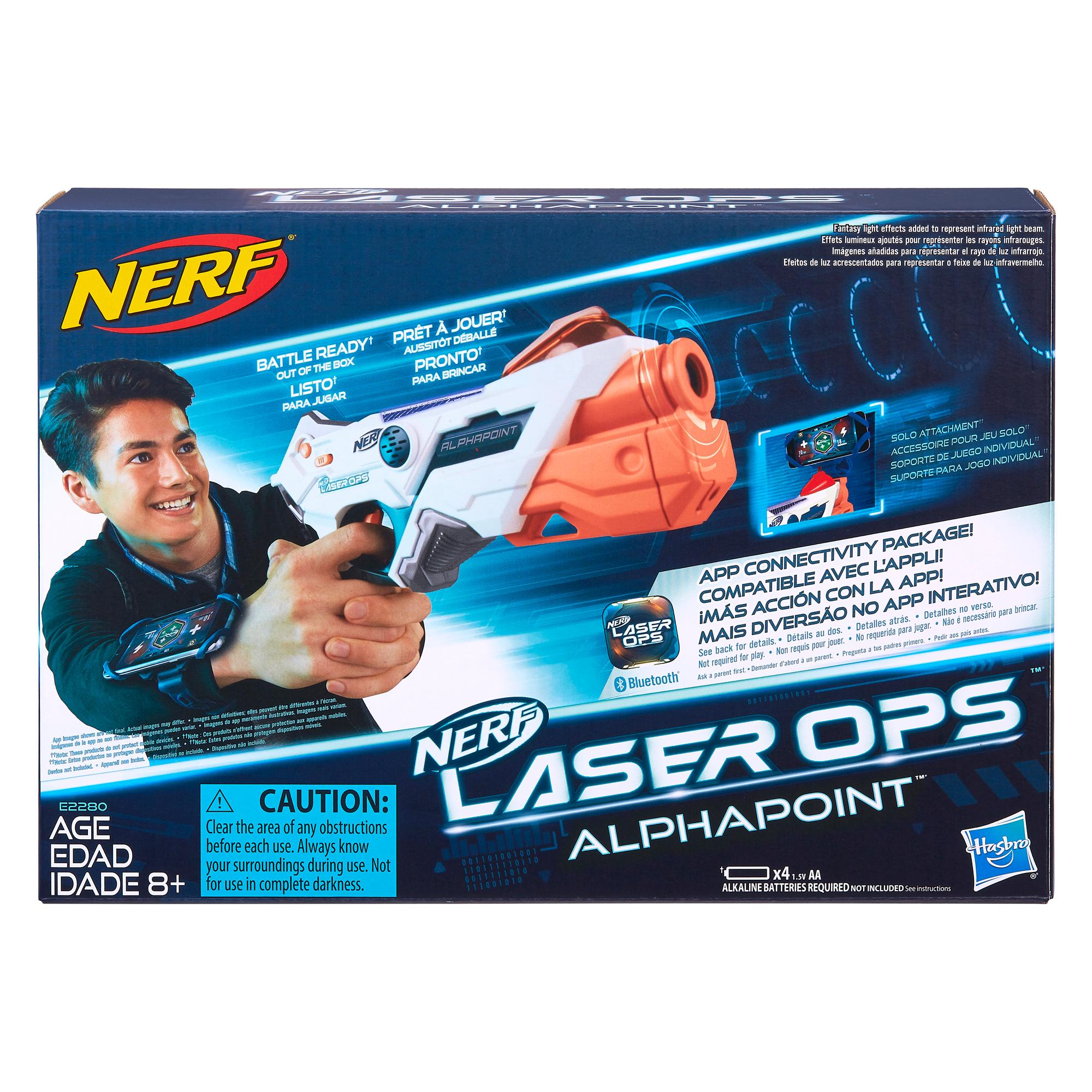 Blaster NERF Laser Ops Pro Alphapoint Single Shot
