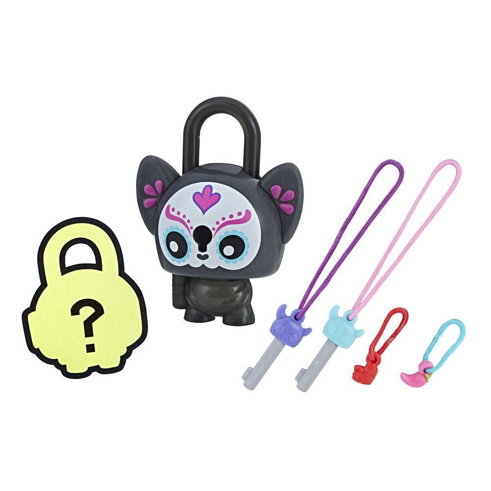 Personaj Lock Stars Pisicuta Craciun Vesel - Seria 2 (Gama de produse poate varia)