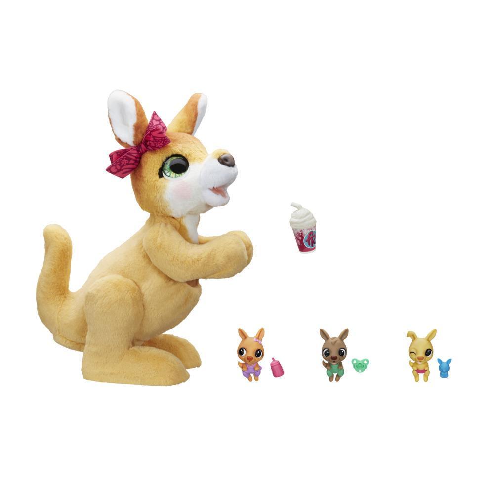 Jucarie animalut interactiv Cangurul furReal Mama Josie