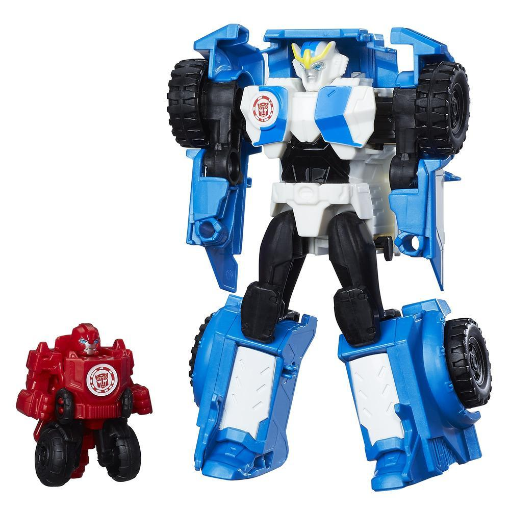 Set figurine Strongarm și Trickout, Transformers RID Combiner Force Activator Combiners